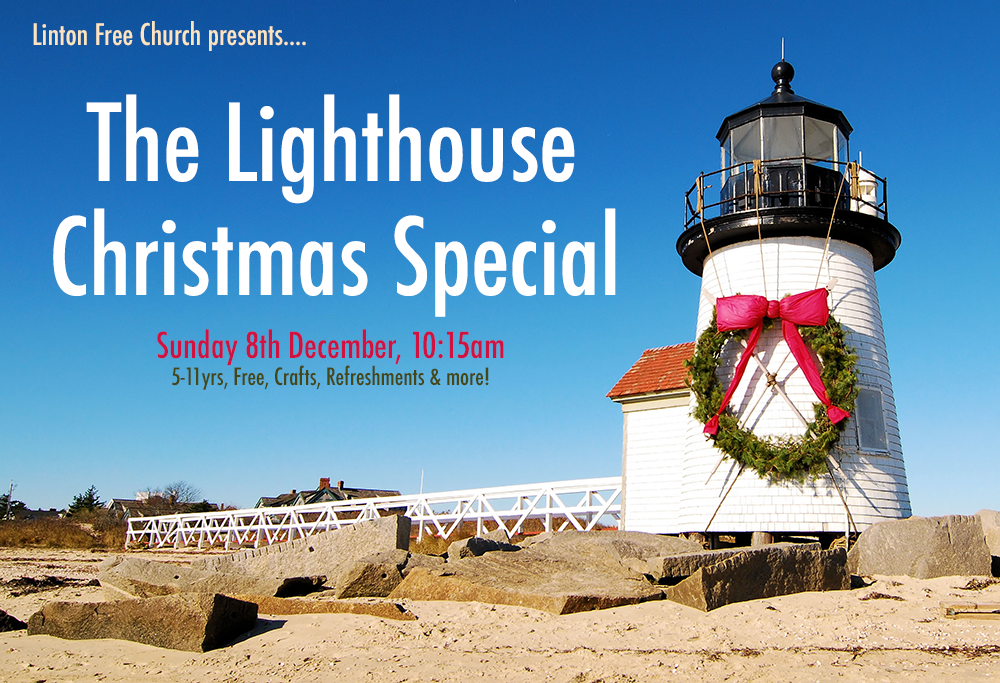 Christmas Lighthouse web
